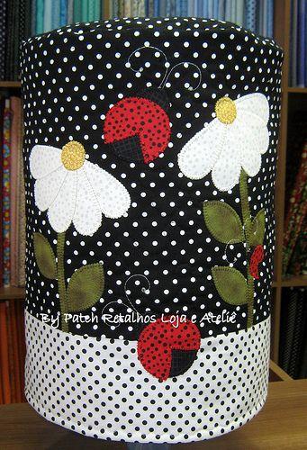 artesanato em tecido natalino capa de garrafão de agua - Pesquisa ...