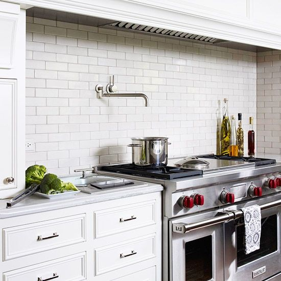 Kitchen Backsplash Tile A Classic One Great White Ceramic