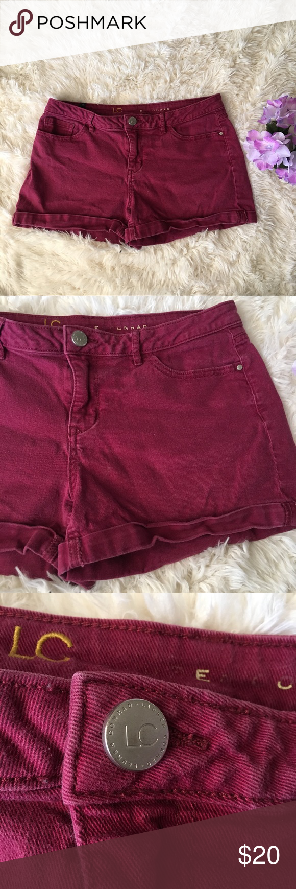 LC LAUREN CONRAD SHORTS   Celebrity casual outfits, Womens
