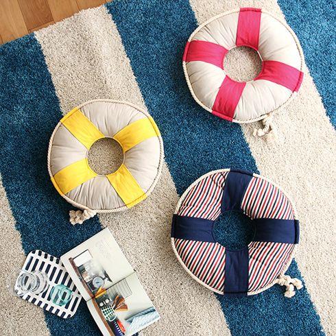 浮き輪のクッション。 FREILLO Float Cushion - まとめのインテリア / デザイン雑貨とインテリアのまとめ。
