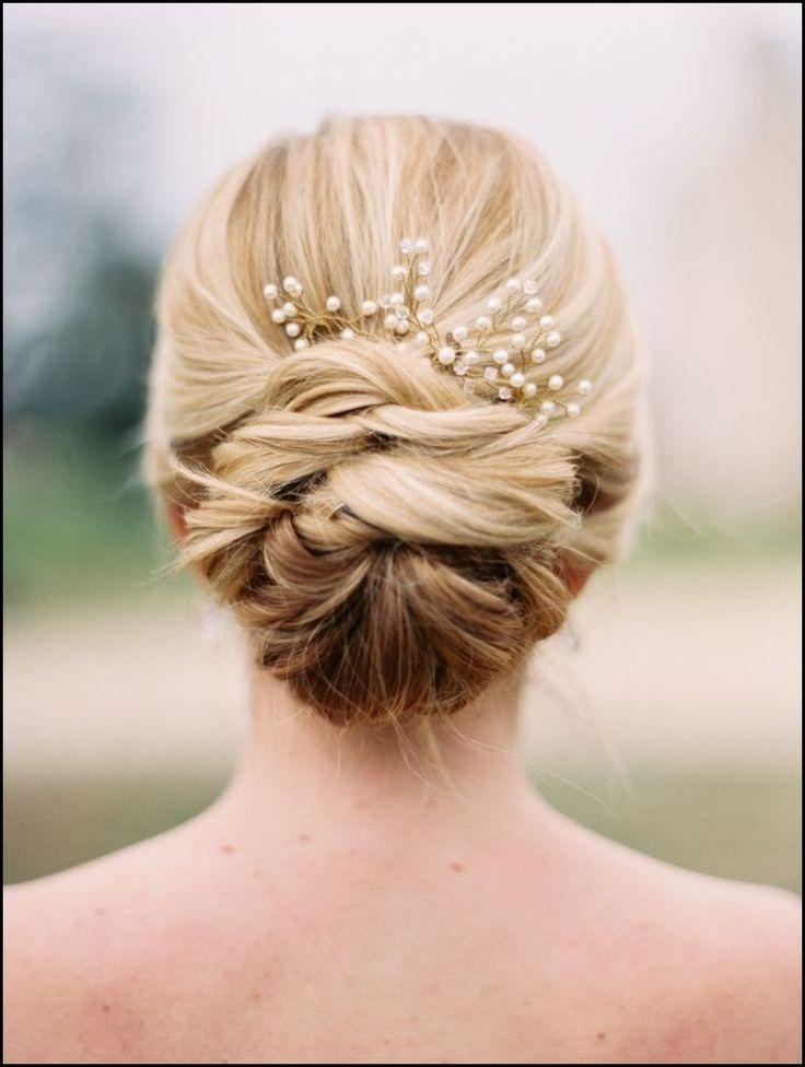 Brautfrisur Mit Schleierkraut Bridalhair Weddinghair Hair Pinterest