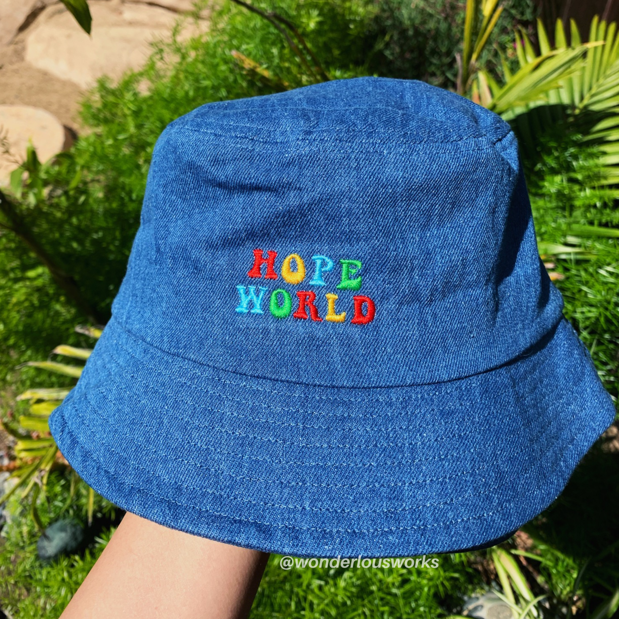 J Hope Hope World Bucket Hat In 2020 Hat Fashion Bts Inspired Outfits Fashion Inspo Outfits