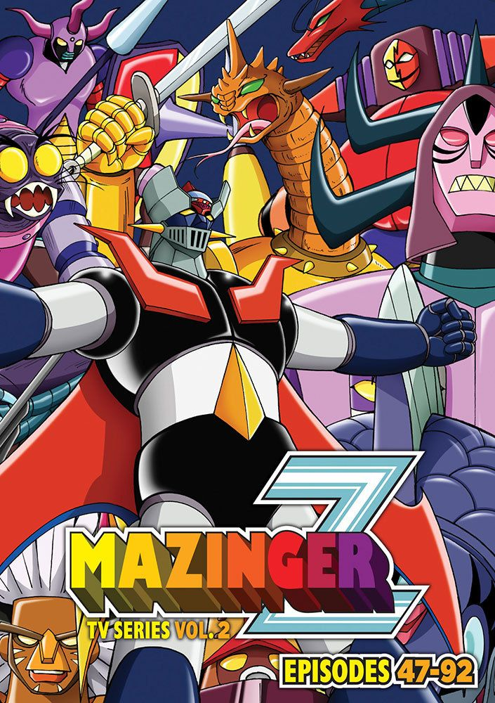 Mazinger Z TV Series DVD Set 2 (S) RightStuf2014