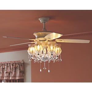 Romantic Ceiling Fan Ceiling Fan Chandelier Rustic Chandelier