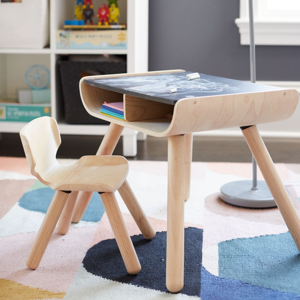 Toddler Desk And Chair Set The Land Of Nod Toddler Desk