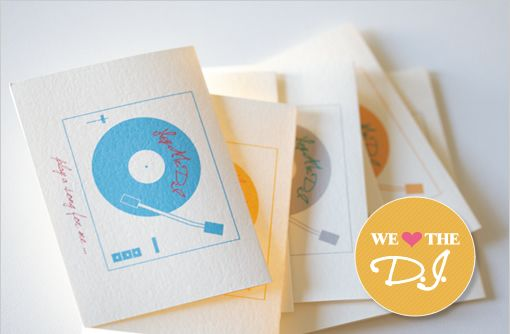 Download DIY Do It Yourself DJ Request Card