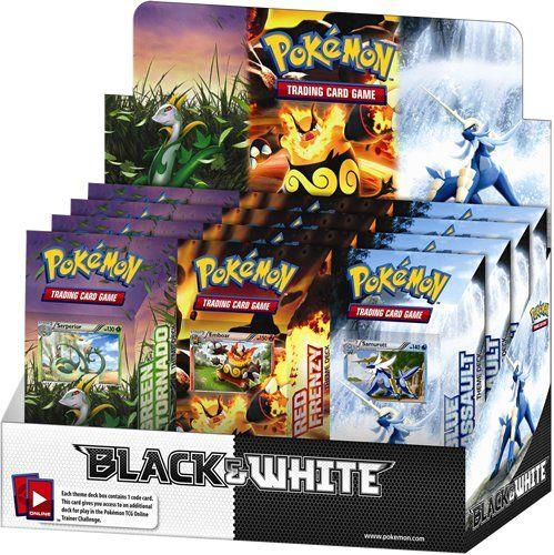 Pokemon Black & White Theme Deck Box [Toy] Pokémon