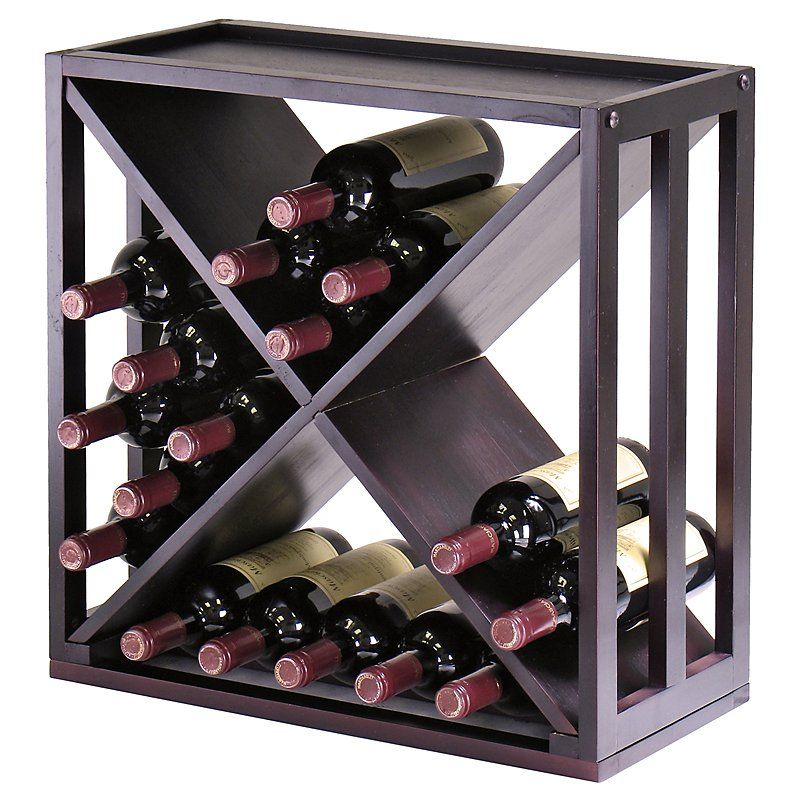 Wine Rack Cabinet Insert Lowes With Kingston Modular Cube Wine Rack From Hayneedlecom Kitchen