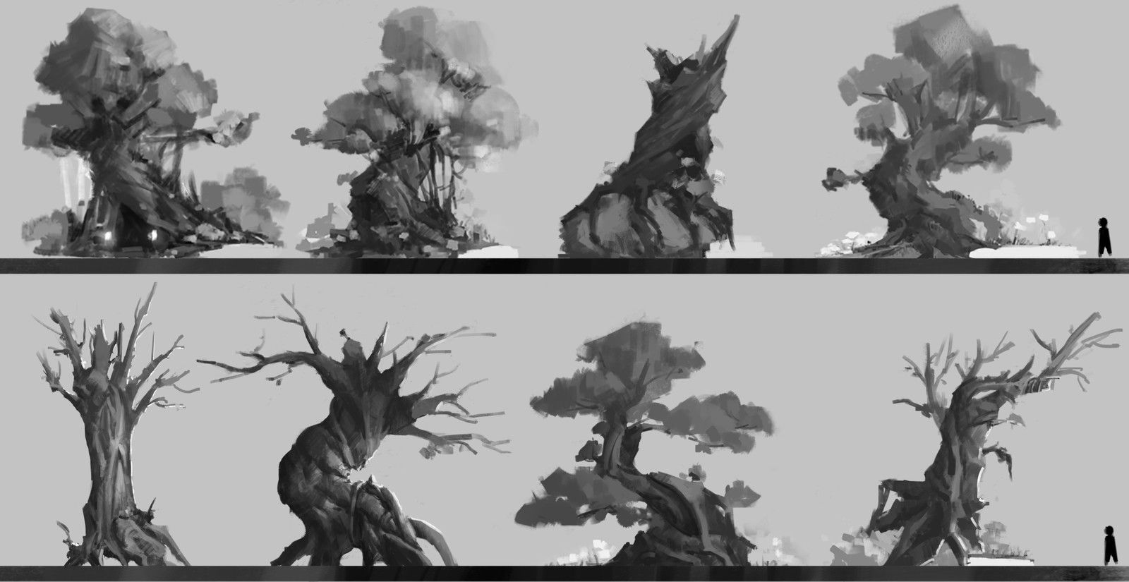 Exercise 1, WoNiu Wang on ArtStation at https://www.artstation.com/artwork/AyQkV