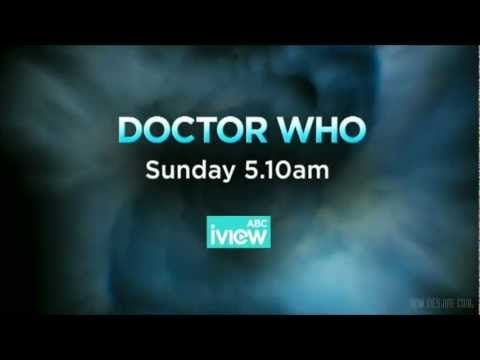 The ABC advertisement for the Doctor Who series 7 iView