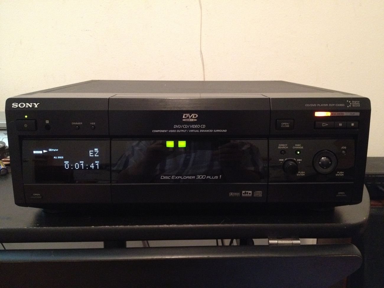 sony dvp cx860 300 1 dvd cd changer player pinterest sony rh pinterest com sony 300 cd player manual download sony mega storage 300 cd player manual