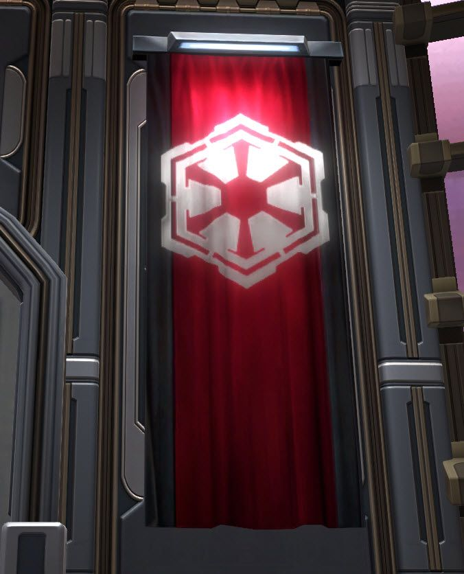 Swtor Banner Imperial Large Star Wars Empire Dark Side Star Wars Star Wars The Old