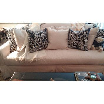 Birch Lane Fairchild Slipcovered Sofa & Reviews | Wayfair ...