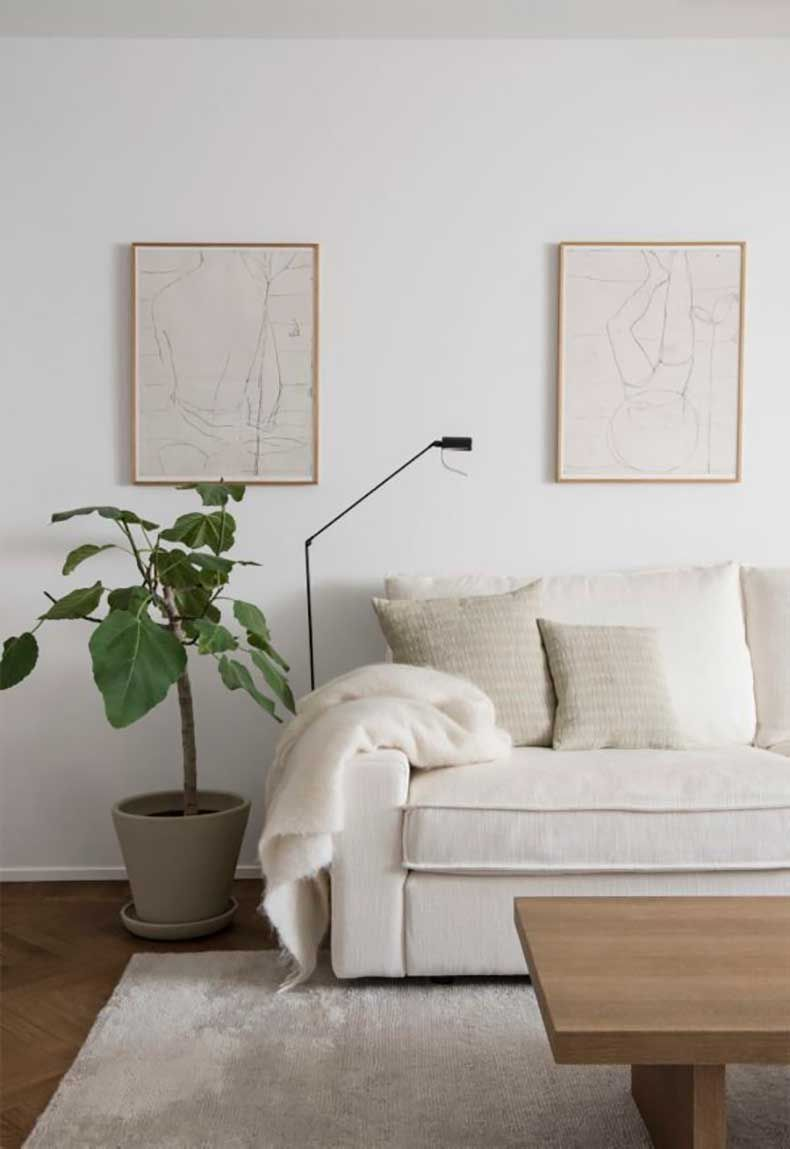 10 Maneras De Incorporar Plantas Dentro Del Hogar Decoracion De Interiores Salones Minimalistas Sala De Estar Minimalista