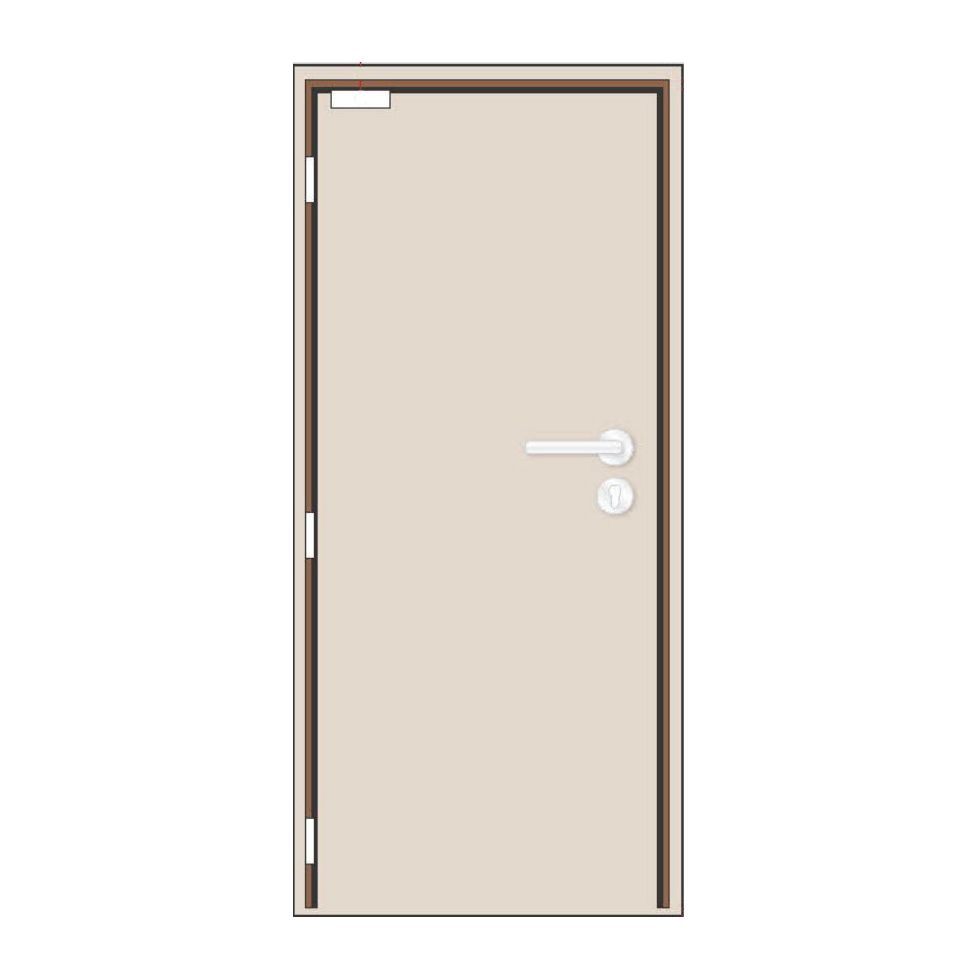 Nevador 1 Hour Single Leaf Fire Rated Door 900mm W X 2100mm H With Timber Frame Ironmongeries Set Fire Rated Doors Timber Frame Timber