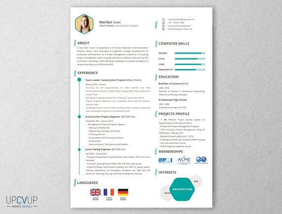 Team Leader Construction Projects Resume Template ♥ Amazing CV - resume template construction