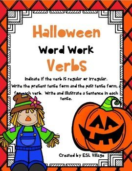 george washington carver foldables and roll the dice activity mini unit vocabulary wordsword - Halloween Vocab Words