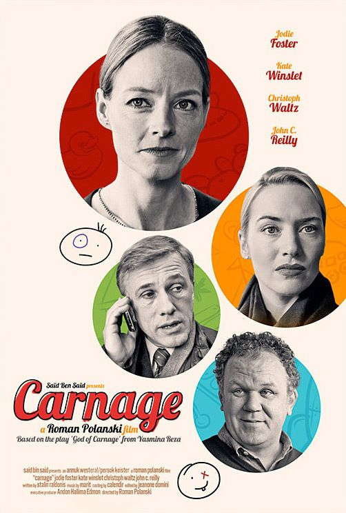 carnage roman polanski moviecomics pinterest ����