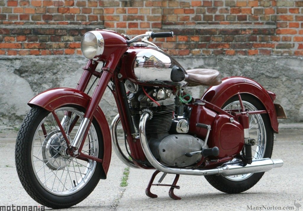 jawa 500 ohc 1953 classic motorcycles pinterest motorr der oldtimer motorrad und ddr. Black Bedroom Furniture Sets. Home Design Ideas