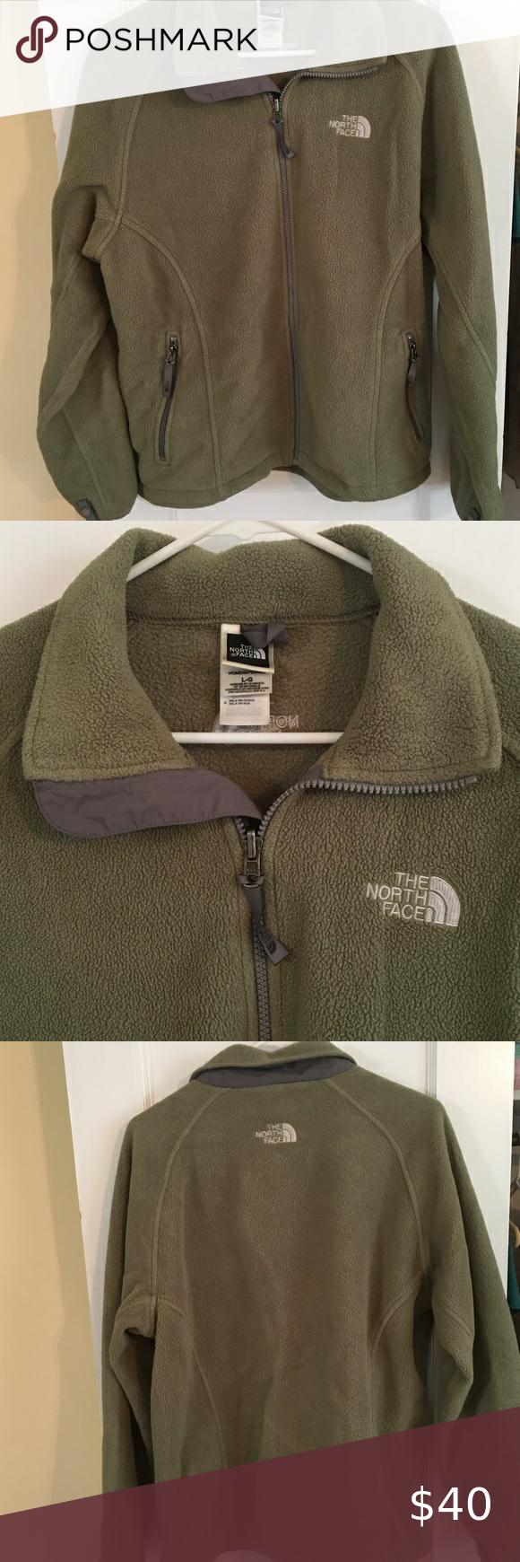 Olive Green North Face Polartec Fleece Jacket Polartec Fleece Fleece Jacket The North Face [ 1740 x 580 Pixel ]