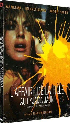 Test DVD L'Affaire de la fille au pyjama jaune : giallo chaud pour un corps froid http://ow.ly/WK1vO