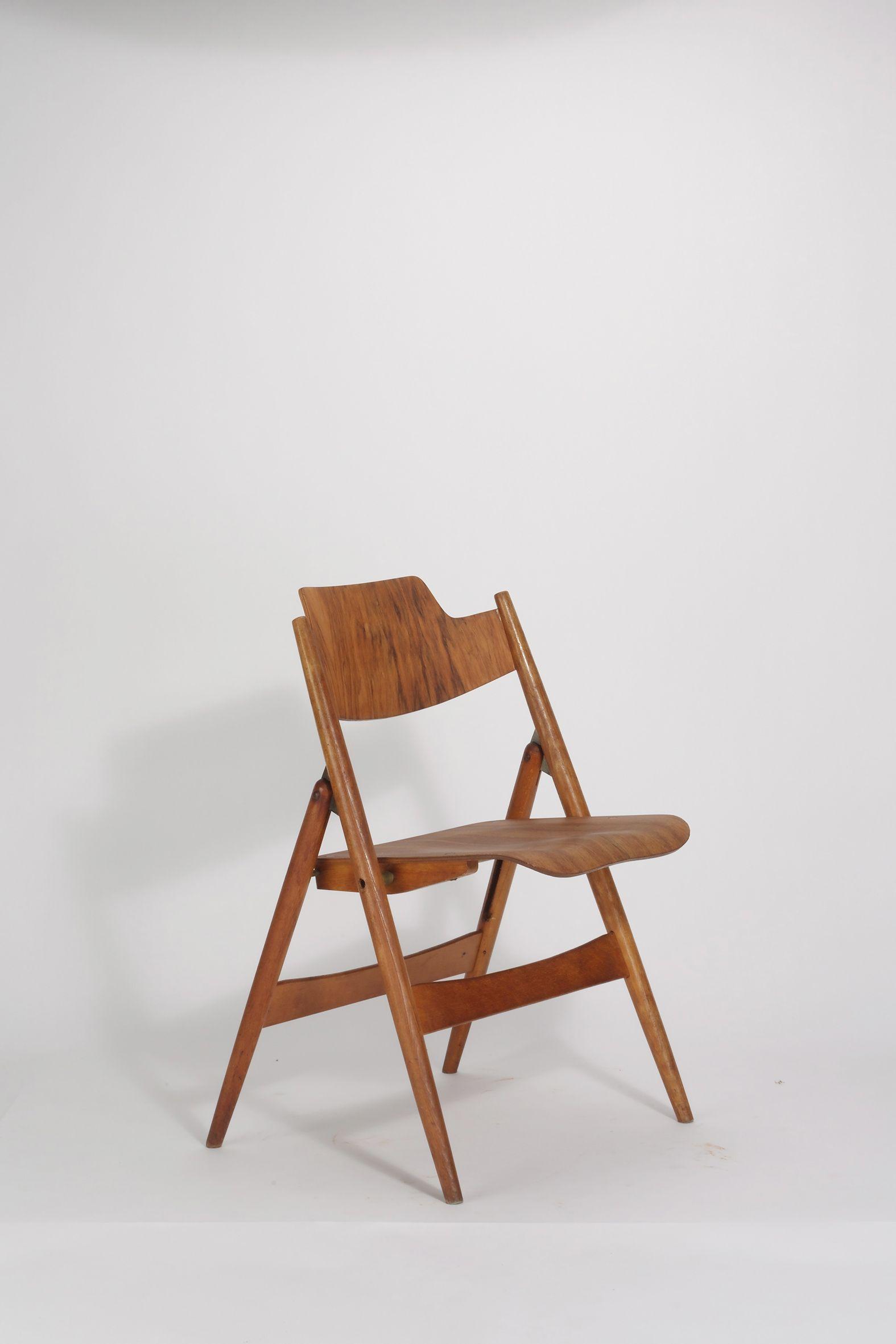 Klappstuhl design  Egon Eiermann, Klappstuhl SE 18 (1952) | CHAIRS | Pinterest ...