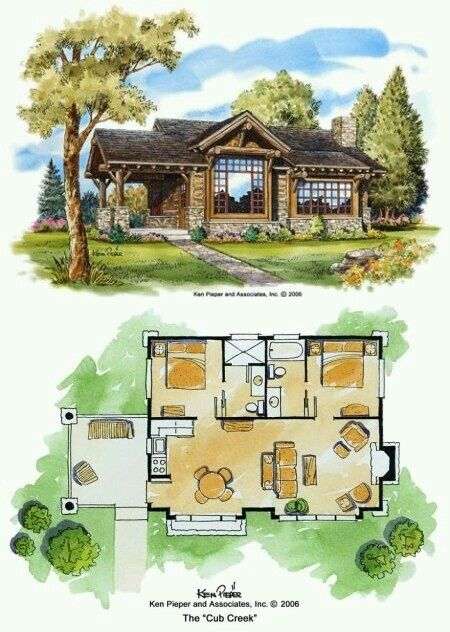 Casa Pequena House Plans Small House Cabin Plans