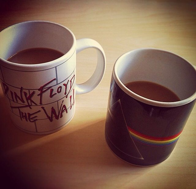 Pink Floyd. The Wall. Dark Side of the Moon. Coffee time. Wish You Were Beer!