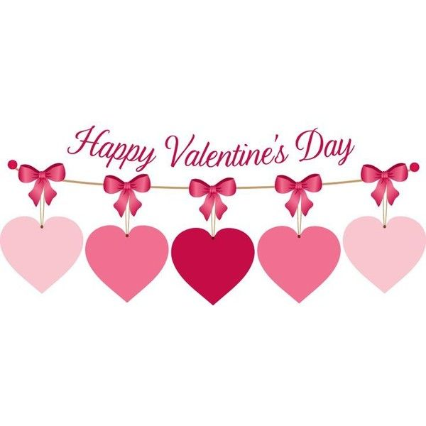 Gallery For Happy Valentines Day Banner Clip Art Liked On