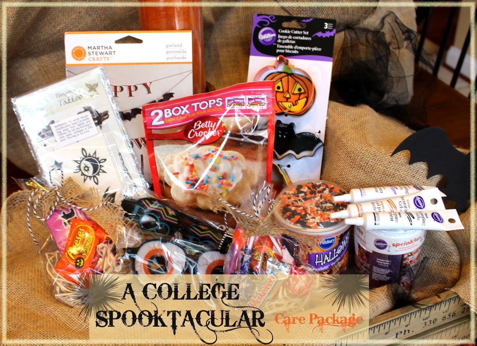 Halloween Gift Baskets For College Students | Spooky Gift Basket Halloween Dates