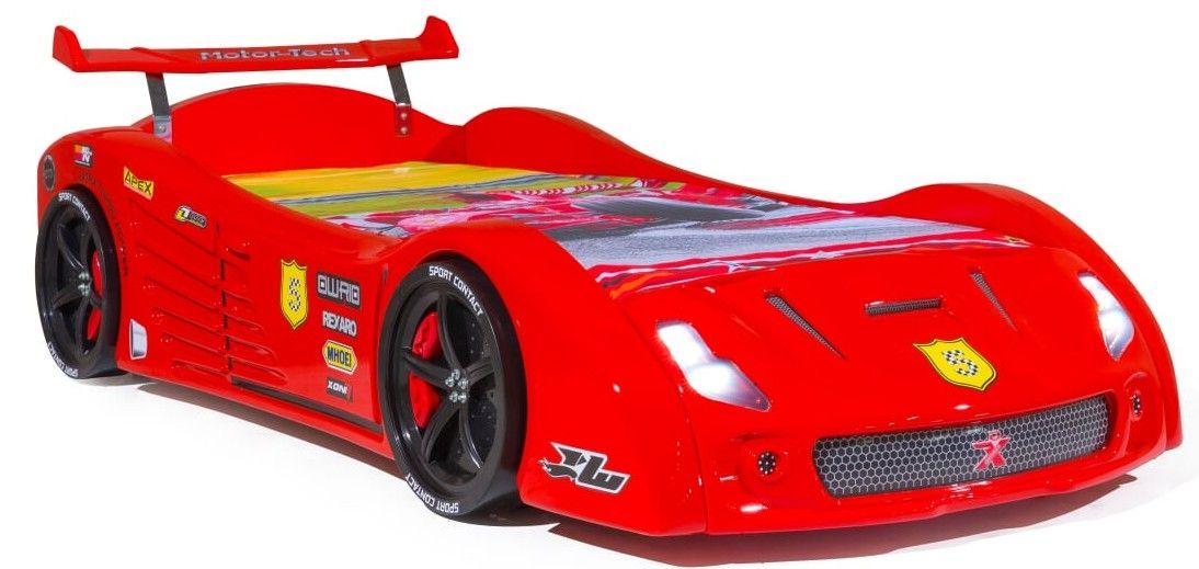 lit voiture rouge karting 90 karting