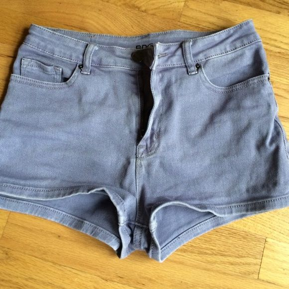 BDG high rise shorts Really cute high rise denim shorts. Only worn a couple times-slightly too big for me which is why I'm selling. BDG Shorts Jean Shorts