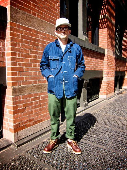 McNairy in Demin, Olive and Brown