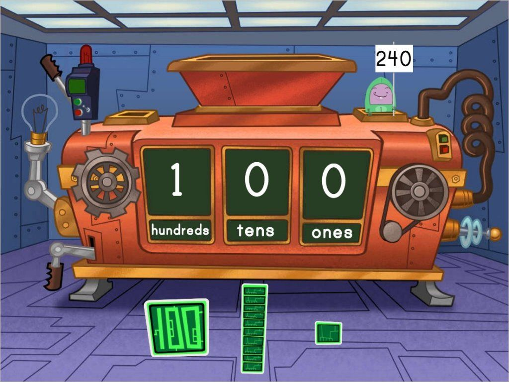Kids Will Practice Making Three Digit Numbers With