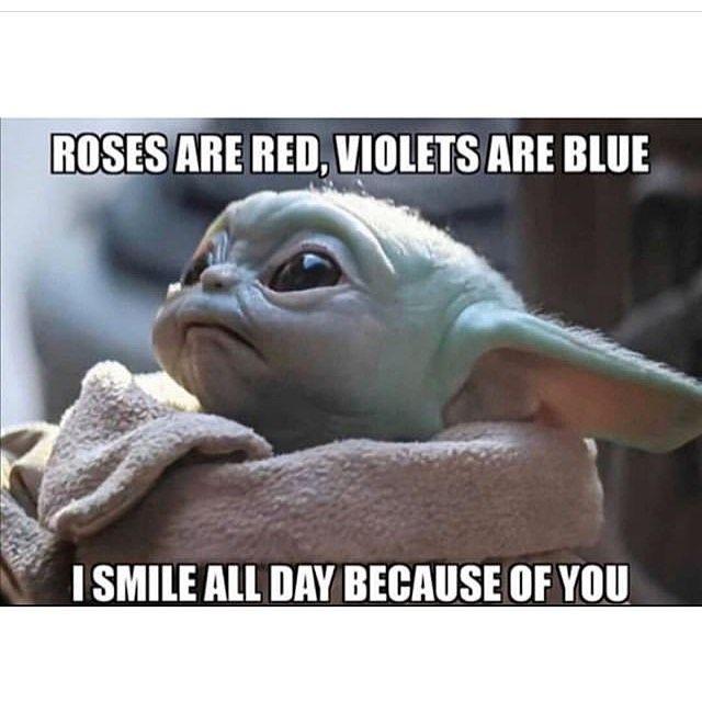 Baby Yoda Memes On Instagram Yoda Funny Yoda Meme Yoda