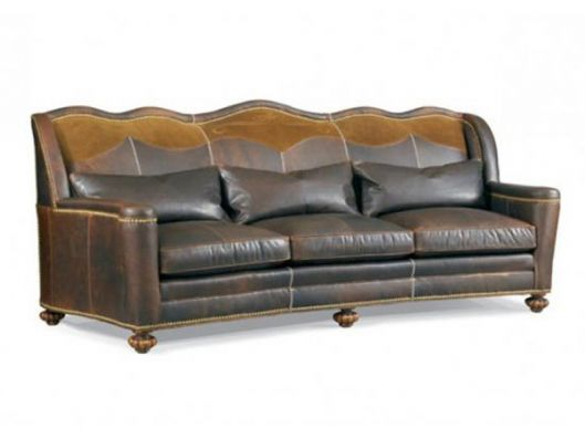 Leather Sofa High Country Whittemore Sherrill Available At Reflections  Furniture