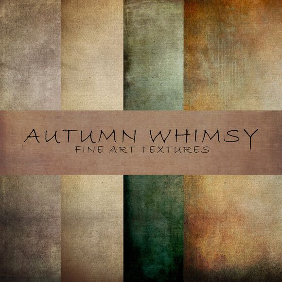 Check out Autumn Whimsy Fine Art Textures by 2 Lil Owls Studio on Creative Market