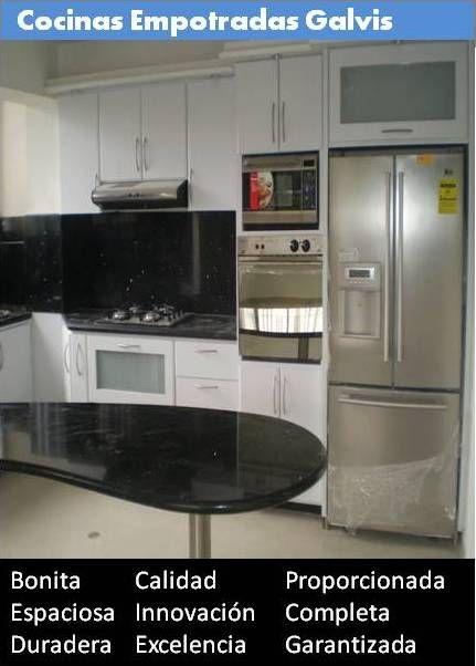 Cocinas empotradas instaladas en venezuela modelo clásico: gris ...