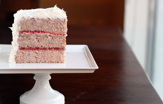 strawberry cake (no jello, food coloring, or artificial flavors ...