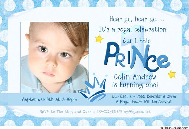Little prince brithday invitations frog prince birthday little prince brithday invitations frog prince birthday invitation 1st birthday boy photo stopboris Image collections