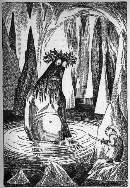 "Tove Jansson - Illustration for ""The Hobbit"" (c. 1961)"