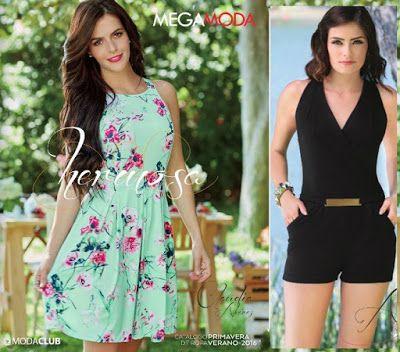 Catalogosmx Pagina De Catalogos Multimarca En Mexico Fashion 80s Dress Summer Dresses