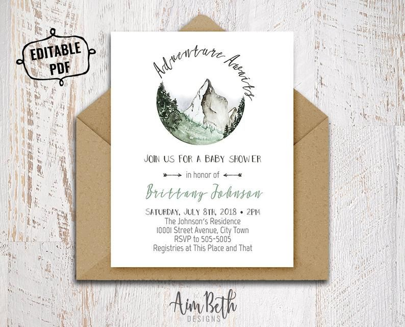 Adventure Awaits Baby Shower Invitation Template Printable Baby Shower Invitation Gender Neutral Baby Shower Invitation Boho Baby Shower Pdf Baby Shower Invites Neutral Gender Neutral Baby Shower Invitations Printable Baby Shower