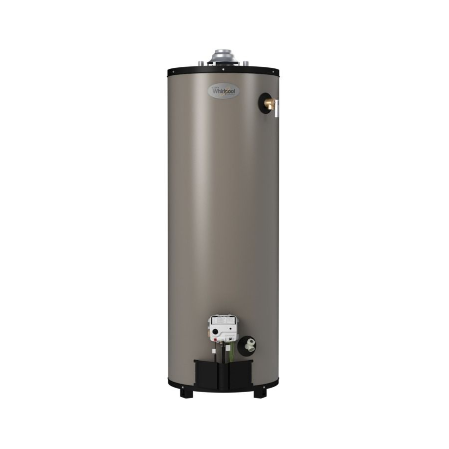 Whirlpool 40 Gallon 12 Year Limited Tall Natural Gas Water Heater Lowes Com Natural Gas Water Heater Gas Water Heater Water Heater