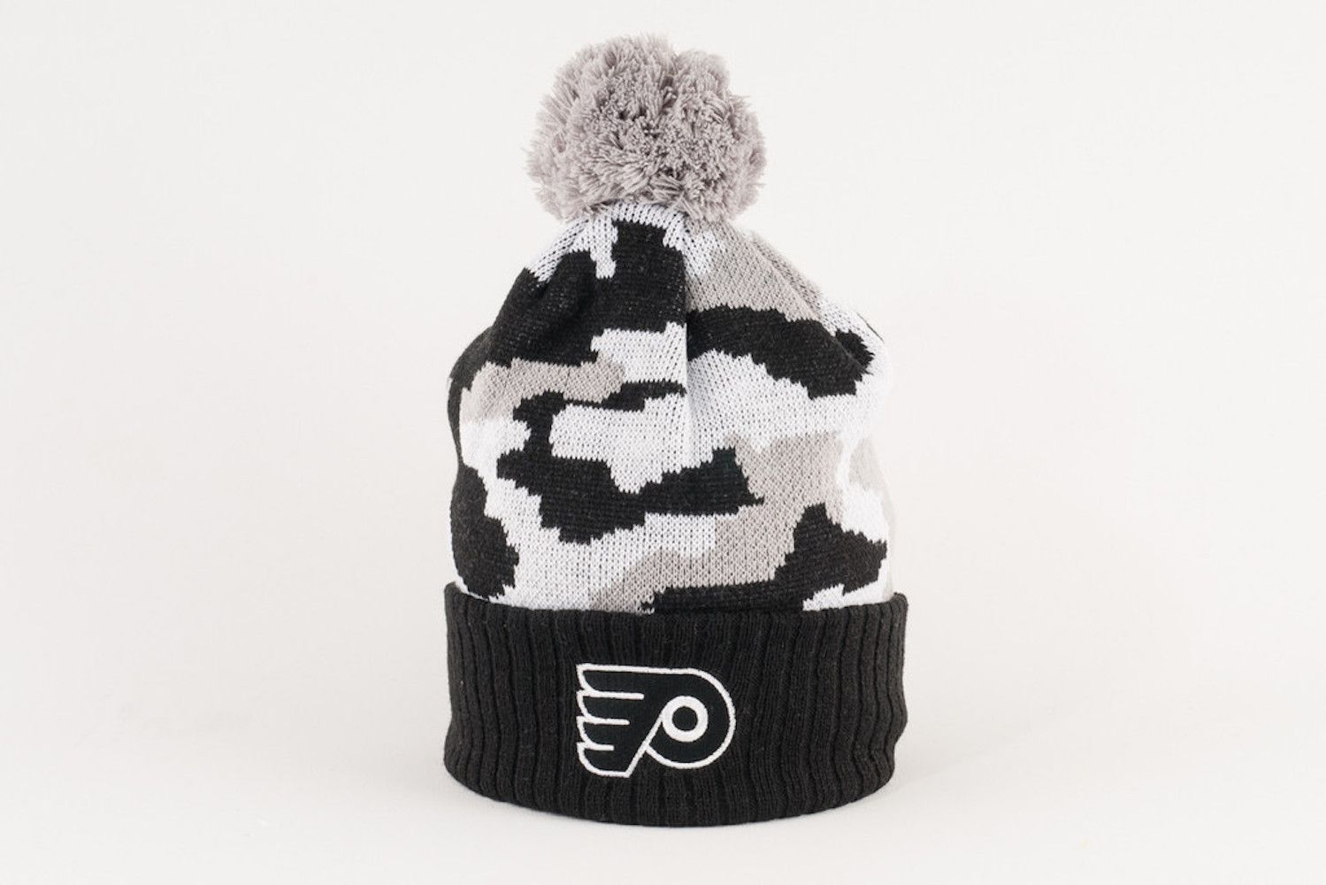 Philadelphia Flyers Gray Camo Winter Hat  1bf85a11cfd
