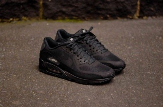 "hot sales d2425 038a7 ... Hidden Reflective Nike Air Max 90 CMFT PRM Tape ""Reflective"" – Black  Want so bad!"