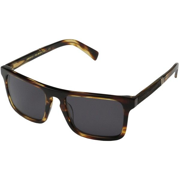 Shwood Govy 2 (Tortoise shell // Ebony - Grey) Sport Sunglasses ($67) ❤ liked on Polyvore featuring accessories, eyewear, sunglasses, black, tortoise sunglasses, lightweight sunglasses, tortoiseshell sunglasses, logo lens sunglasses and logo sunglasses