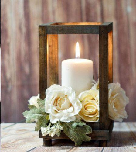 Ideas para escoger los centros de mesa para tu boda