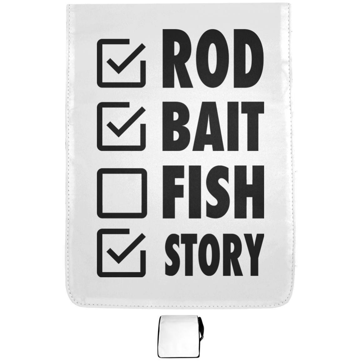 Rod Bait Fish Story Shoulder Bags