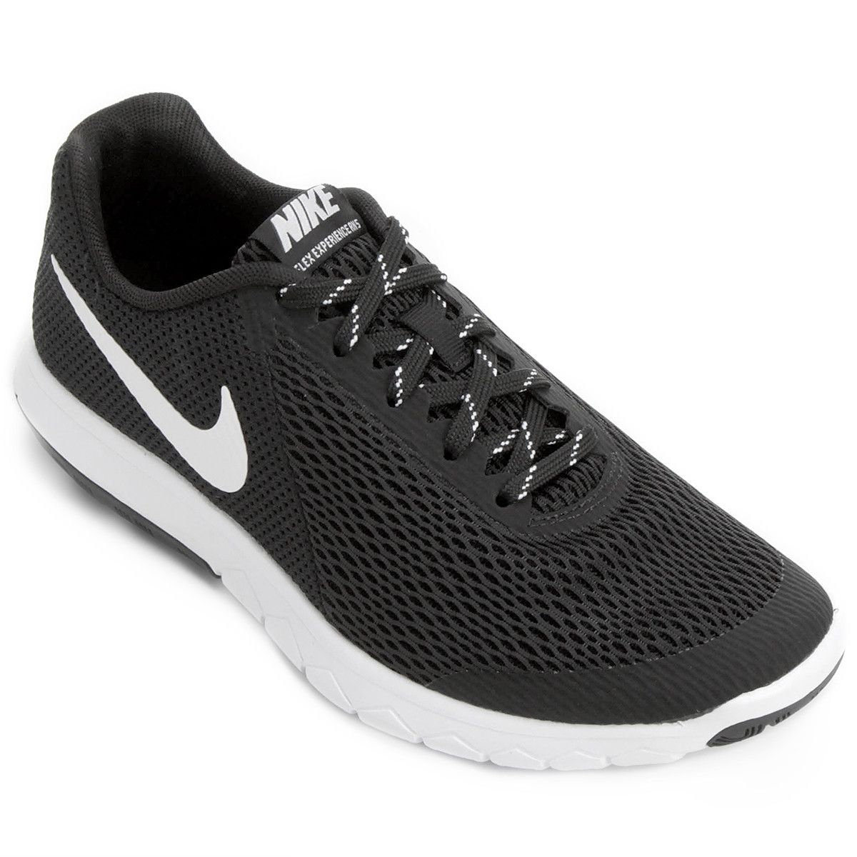 Tênis Nike Flex Experience Rn 5 Feminino Preto E Branco